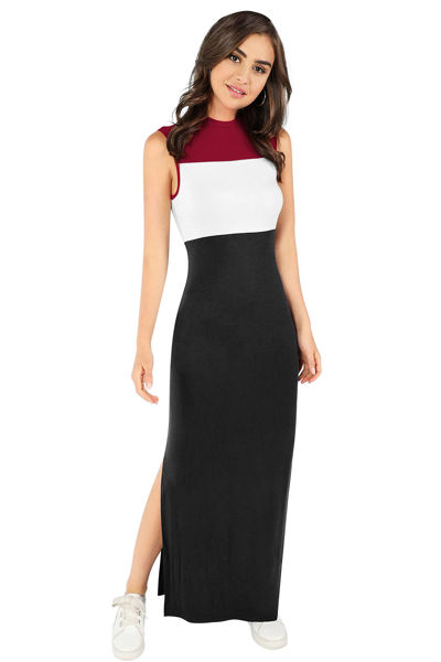 Picture of Hem Cut Ankle Length Gown